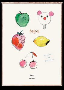 Bilde av Fruits & Friends  50x70 cm