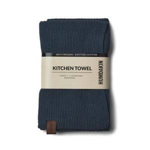 Bilde av KNITTED KITCHEN TOWEL - SEA BLUE