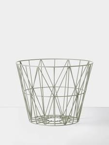 Bilde av Wire Basket - Dusty Green - Small